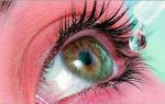 Капли для глаз после наращивания ресниц: обзор средств