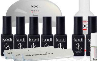 Материалы для наращивания Kodi: ресницы, клей и другие товары