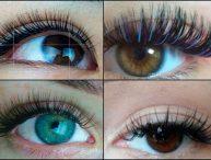 какая форма ресниц для каких глаз