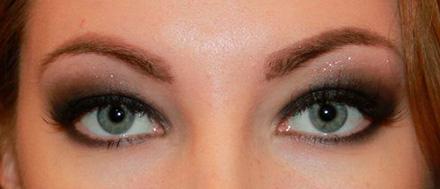 макияж с ламинированными ресницами