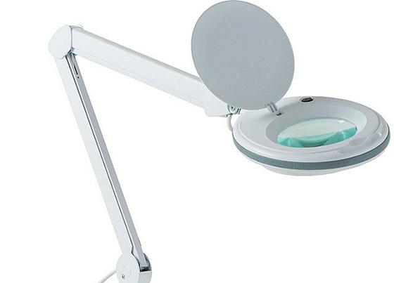 лампа-лупа для ресниц
