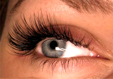 ресницы лисий глаз