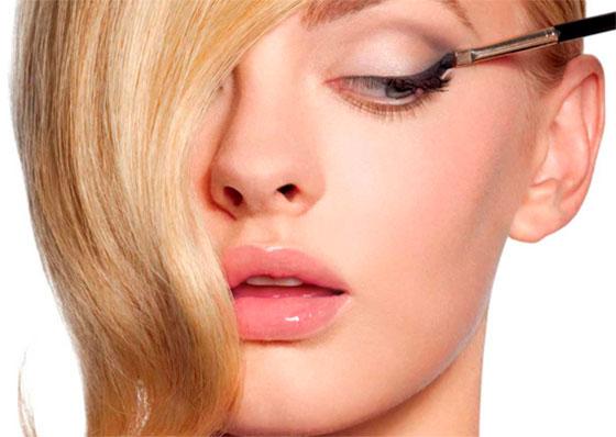 макияж верхнего века